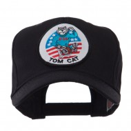Air Force Tomcat Embroidered Military Patch Cap - Tomcat 3