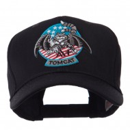 Air Force Tomcat Embroidered Military Patch Cap - Tomcat A