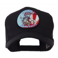 Air Force Tomcat Embroidered Military Patch Cap - Fighting 3