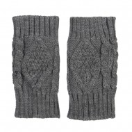 6 Inches Knit Hand Warmer - Grey
