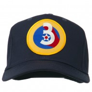 3rd Air Force Division Patched Cap - Navy