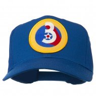 3rd Air Force Division Patched Cap - Royal