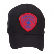 Texas State Highway Patrol Patched Cap - Black