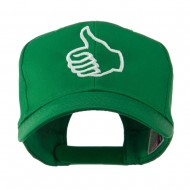 Facebook Thumbs Up Embroidered Cap - Kelly