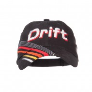 Drift King Race Embroidered Deluxe Cap - Black