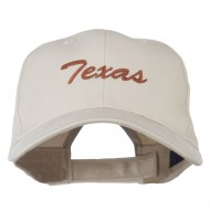 Mid States Texas Embroidered Mid Profile Cap - Stone
