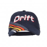 Drift King Race Embroidered Deluxe Cap - Navy