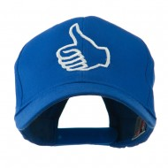 Facebook Thumbs Up Embroidered Cap - Royal