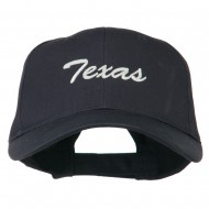 Mid States Texas Embroidered Mid Profile Cap - Navy