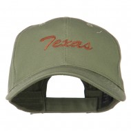 Mid States Texas Embroidered Mid Profile Cap - Olive