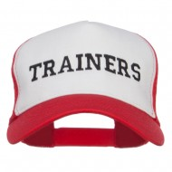 Ash Ketchum Trainers Embroidered Mesh Cap - White Red