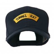 Vietnam War Tunnel Rat Badge Embroidered Cap - Navy