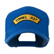 Vietnam War Tunnel Rat Badge Embroidered Cap - Royal
