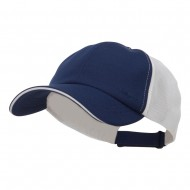 Athletic Two Tone Mesh Cap - Navy