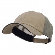 Athletic Two Tone Mesh Cap - Olive