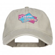Little Sister Patched Washed Cap - Stone