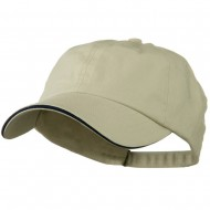 Low Profile Cotton Twill Cap - Putty Navy
