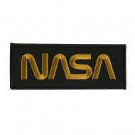Text Law and Forces Embroidered Military Patch - NASA
