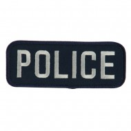Text Law and Forces Embroidered Military Patch - Police