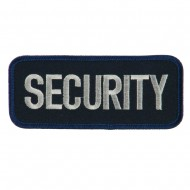 Text Law and Forces Embroidered Military Patch - Security