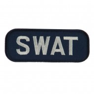Text Law and Forces Embroidered Military Patch - SWAT