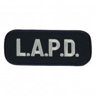 Text Law and Forces Embroidered Military Patch - LAPD