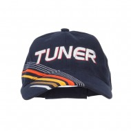 Tuner Embroidered Deluxe Cotton Cap - Navy
