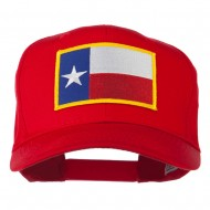 Texas State High Profile Patch Cap - Red