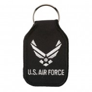 U.S. Air Force Embroidered Key Chains - Navy