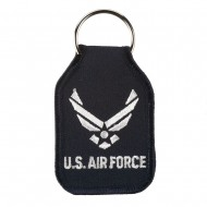 U.S. Air Force Embroidered Key Chains - Black
