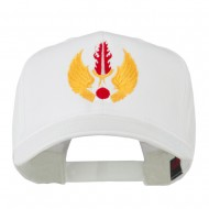 USAF In Europe Military Badge Embroidered Cap - White