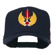 USAF In Europe Military Badge Embroidered Cap - Navy