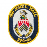 USS FFG Twisted Rope Military Patches - John