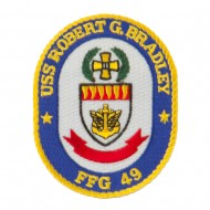 USS FFG Twisted Rope Military Patches - Robert