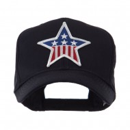 USA Flag Style Military Patch Cap - Star