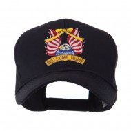 USA Flag Style Military Patch Cap - Welcome Home