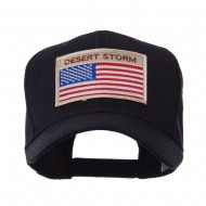USA Flag Style Military Patch Cap - Desert Storm