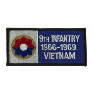 US Army Infantry Embroidered Military Patch - 9th Inf