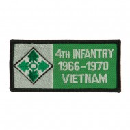 US Army Infantry Embroidered Military Patch - 4th Inf