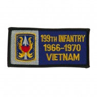 US Army Infantry Embroidered Military Patch - 199th Inf