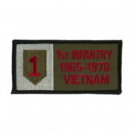 US Army Infantry Embroidered Military Patch - 1st Inf