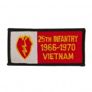 US Army Infantry Embroidered Military Patch - 25th Inf
