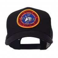 US Navy Military Patched Mesh Cap - USNF