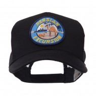 US Navy Military Patched Mesh Cap - Persian