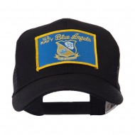 US Navy Military Patched Mesh Cap - Angel