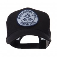 US Navy Military Patched Mesh Cap - Mekong