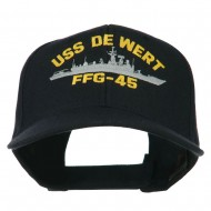 USS Navy Oliver Hazard Perry Class Frigate Military Cap - FFG45