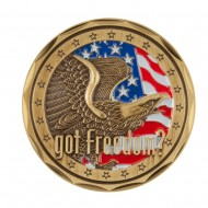 U.S. Navy Saying Coin - Blue Freedom