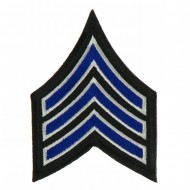 USA Security and Rescue Embroidered Patch - Sergeant