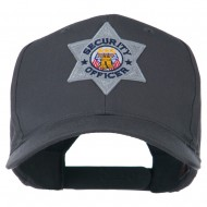 USA Security Officer Patched High Profile Cap - Charcoal Grey